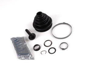 ES#1950 - 3B0498203A - Front Outer CV Joint Boot Kit - Priced Each - Stop losing CV grease and extend axle joint life - GKN Drivetech - Audi Volkswagen