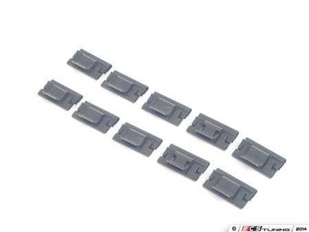 ES#2598237 - 51418190421KT - Clip - Pack Of 10 - Genuine BMW -