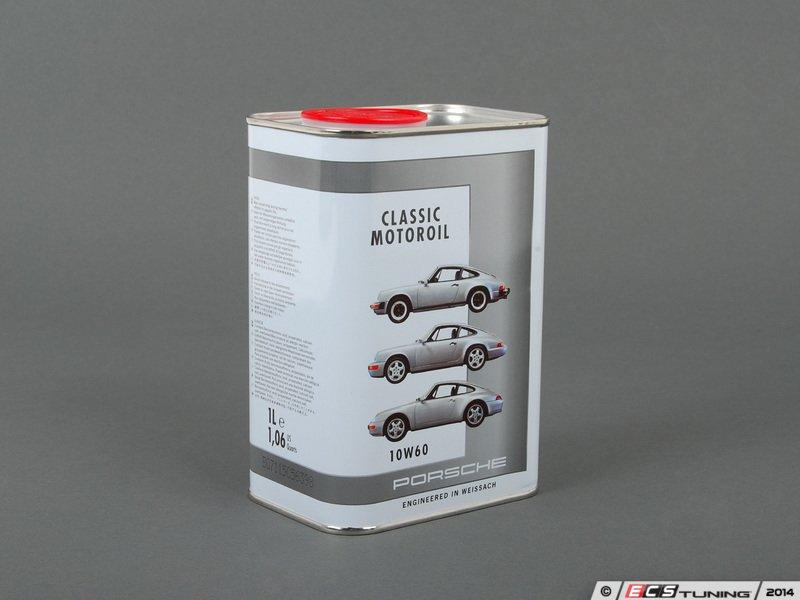 genuine porsche 00004320930 porsche classic motor oil