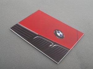 ES#13327 - 01479782629 - Owner's Manual - Everything you need to know about your car - Genuine BMW - BMW