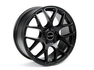 """ES#2748496 - 349A-14kt - 17"""" Style 349 Wheels - Set Of Four - 17""""x7.5"""" ET45 5x112 - Matte Black - Alzor - Audi Volkswagen"""