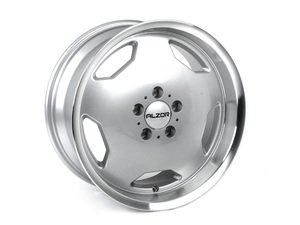 "ES#3448149 - 803-2kt2 - 17"" Style 803 Wheels - Set Of Four - 17""x8"" ET30, 17x9"" Et30 66.6CB 5x112 Silver with Machined Lip - Alzor - Audi Mercedes Benz"