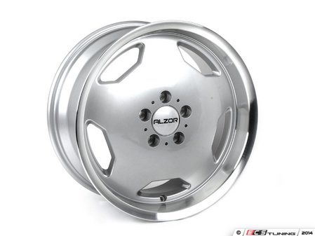 "ES#2748500 - 803-1KT1 - 17"" Style 803 Wheels - Set Of Four - 17""x8"" ET30 66.6CB 5x112 Silver with Machined Lip - Alzor - Audi Mercedes Benz"