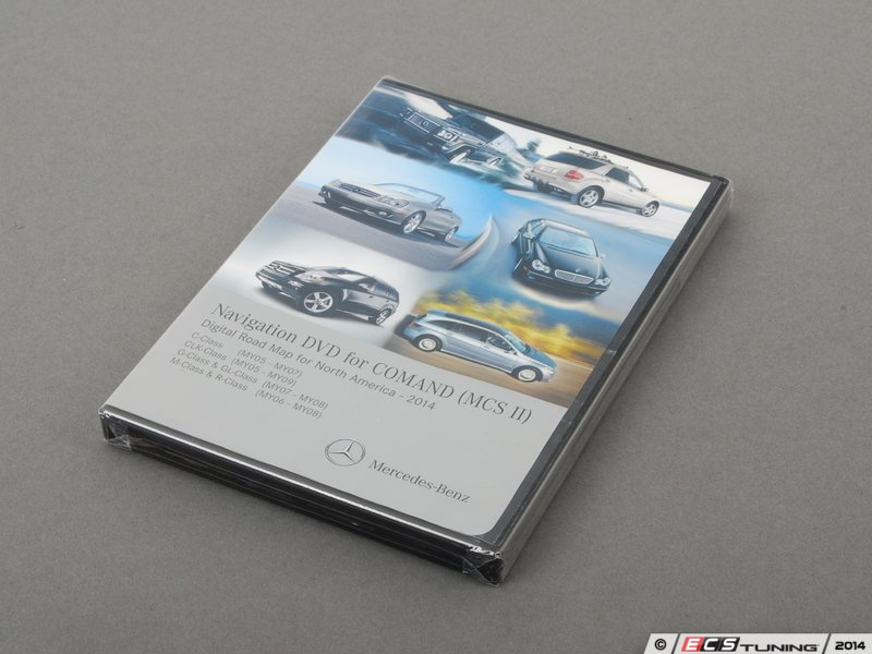 Genuine mercedes benz q6460316 navigation dvd update for Mercedes benz navigation update