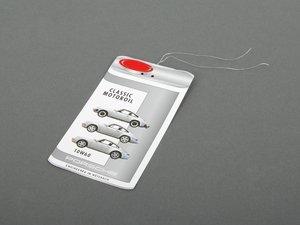 ES#2739131 - PCG04320931 - Porsche Classic Oil Change Service Label - 10W-60 - Keep track of your maintenance - Genuine Porsche - Porsche