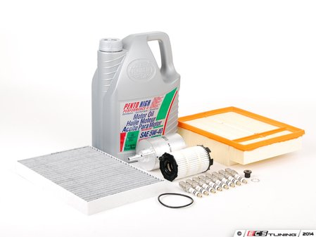 ES#251052 - B7RS440kkt - 40k Service Kit - Everything you need to perform the recommended 40k mile service. - Assembled By ECS - Audi