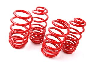 "ES#1303564 - 50361-77 - Super Sport Springs - Set - Aggressive looks and ultimate handling. Average lowering of 2.0""F 2.0""R - H&R - Audi"