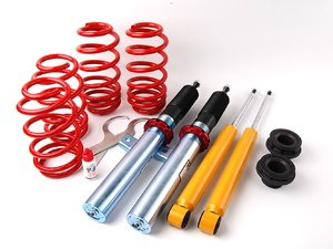 """ES#514156 - 29258-1 - Street Performance Coilover Kit - Unrivaled comfort and performance. Average lowering of 1.3""""-2.2""""F 1.0""""-2.0""""R - H&R - Volkswagen"""