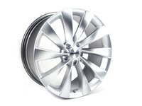 "ES#2710424 - 621-7KT - 19"" Style 621 Wheels - Set Of Four - 19""x8.5"" ET45 5x112 - Hyper Silver - Alzor - Audi Volkswagen"