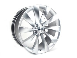 "ES#2710420 - 621-8KT - 19"" Style 621 Wheels - Set Of Four - 19""x8.5"" ET35 5x112 - Hyper Silver - Alzor - Audi Volkswagen"