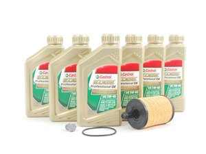 ES#2748833 - ZVW352540SDSPKT1 - Oil Service Kit - Everything you need to perform an engine oil service - Genuine Volkswagen Audi - Audi