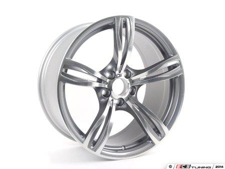 """ES#4147424 - 36112283401wtKT - 20"""" M Double Spoke Style 343 Wheel & Tire Package - 255/35R20 / 285/35R20 - F20x9 ET32 / R20x10 ET34 CB 72.6mm - With Bridgestone Potenza RE980AS Tires - Assembled By ECS - BMW"""