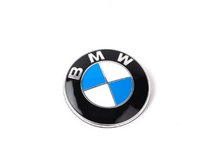 ES#79384 - 51148132375 - BMW Roundel Emblem - Tired of looking at your faded BMW Badge? Replace it with the Genuine OEM Roundel - Genuine BMW - BMW