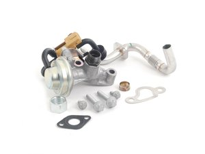 ES#2749293 - 1121400460KT5 - EGR Valve Kit - Level 3 - Everything you need to completely replace your EGR valve - Assembled By ECS - Mercedes Benz