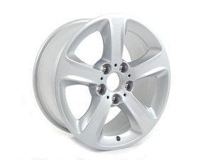 "ES#64825 - 36116762300 - 17"" spider Spoke Style 137 Wheel - Priced Each - 17x8 ET47 CB 72.6mm - Genuine BMW - BMW"