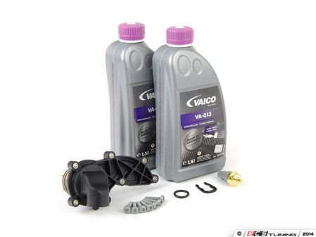 ES#2678364 - 06E121111ADKT - Cooling System Refresh Kit - Level 1 - Replace your thermostat and temp sensor with one kit! - Assembled By ECS - Audi