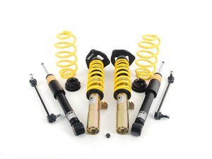 ES#2730636 - 18210850 - ST XTA Performance Coilover System - Adjustable Damping - Featuring adjustable damping and aluminum adjustable camber plates. - Suspension Techniques - Audi Volkswagen