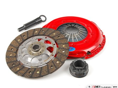 ES#3098856 - 205hdofedmKT - Stage 2 Endurance Clutch Kit - Designed for track use while still streetable. Conservatively rated at 325ft/lbs. - South Bend Clutch - Audi Volkswagen