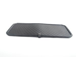 ES#2714932 - 51472353820 - Fitted Luggage Compartment Mat - Black - Lines the upper storage area of the trunk - Genuine MINI - MINI