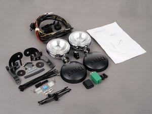 ES#2707962 - 63120144132KT - Driving Lights Retrofit Kit - Chrome  - Add rally lights to your MINI grille : alternative factory kit ** Update see description ** - Genuine MINI - MINI