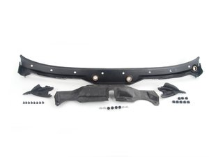 ES#2748755 - 51718159292KT3 - Windshield Cowl Cover Kit - Includes mounting hardware - Genuine BMW - BMW