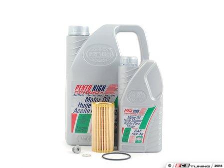 ES#2739821 - 06K115562SVCKT2 -  Oil Service Kit  - Includes Hegnst oil filter and Pentosin oil - Assembled By ECS - Volkswagen
