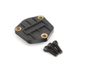 ES#2722887 - 03G103707 - Oil Level Sensor Cover Kit - Includes sensor hole cover, gasket, and retaining hardware - URO - Audi Volkswagen