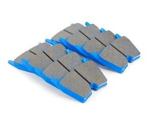 ES#1874106 - HB609E.572 - Blue Race Front Brake Pad Set - Designed for track use only - Hawk - Audi