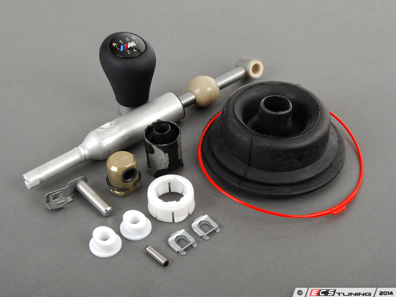 Assembled By Ecs 25117527254kt Short Shift Kit With Zhp Shift Knob 5 Speed