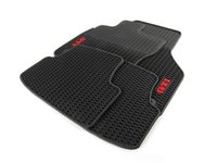 ES#2738029 - 5G1061550B041 - Monster Mats Floor Mat Set - GTI - The best floor mats available to protect your interior from all kinds of natural elements, featuring red lettering - Genuine Volkswagen Audi - Volkswagen