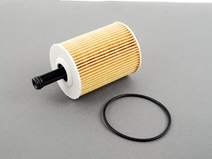 ES#2762381 - 071115562C - Oil Filter - Priced Each - Keep contaminants out of your engine with a new oil filter - Mahle - Audi Volkswagen