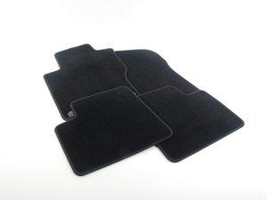 ES#1820790 - 66290102 - Carpeted Floor Mat Set - Black, without logo - Genuine Mercedes Benz - Mercedes Benz