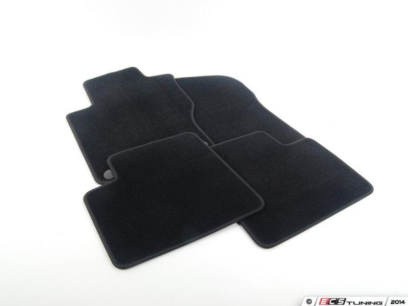 Genuine mercedes benz 66290102 carpeted floor mat set for Floor mats for mercedes benz