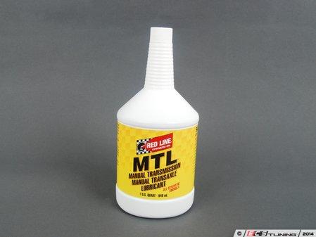 ES#1502 - RL MTL - MTL Manual Transmission Fluid 75w80 - 1 Quart - GL-4 gear oil that may allow for faster shifts than standard 75w90 fluid - Redline - Audi BMW Volkswagen MINI