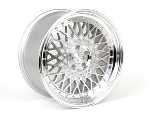 "ES#2721240 - M220-6 - 19"" Style M220 - Priced each - (19x8.5 5x112 Et35 66.6cb) Silver Machined - Avant Garde - Audi"
