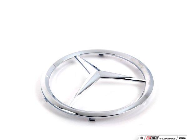 Genuine mercedes benz 1708880086 mercedes benz star emblem for Mercedes benz star emblem