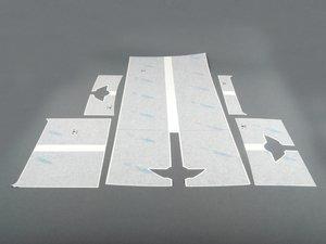ES#78813 - 51140418657 - Dual Sport Stripes - Black - For the Hood and Trunk - Genuine MINI - MINI