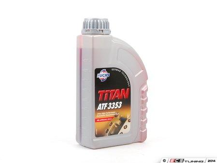 ES#2538217 - 00004330401 - Titan ATF 3353 Transmission Fluid - Priced Each - 1 Liter Container - designed for your transmission - Fuchs - Porsche