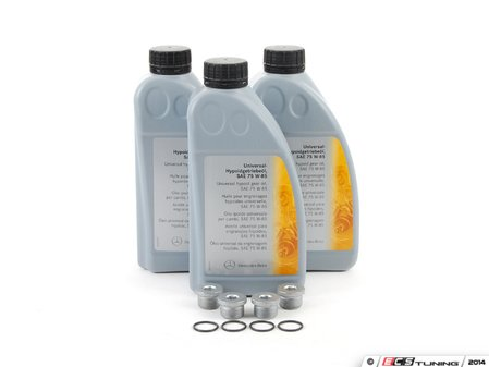 ES#2723058 - 00198993303KT - Differential Service Kit - Includes everything you need to service your front and rear differentials - Genuine Mercedes Benz - Mercedes Benz