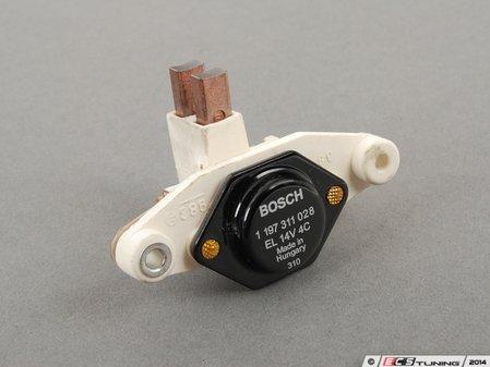 ES#2762174 - 92860315300 - Voltage Regulator - Located on the back of the alternator - Bosch - Porsche