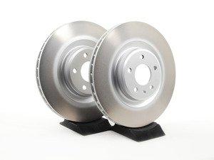 ES#2070627 - 8K0698301MKT - Front Brake Rotors - Pair (345x30) - Restore the stopping power in your vehicle - Genuine Volkswagen Audi - Audi