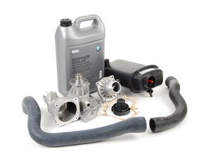 ES#2586817 - 17111741167KT2 - ECS Cooling System Refresh Kit - Level 1 - An entry level cooling refresh kit - with aftermarket components and featuring a GEBA water pump - Assembled By ECS - BMW