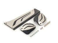 ES#2607397 - 35002232276 - M Performance Stainless Steel Pedal Set - Upgrade the look of your interior with these M performance pedals - Genuine BMW - BMW