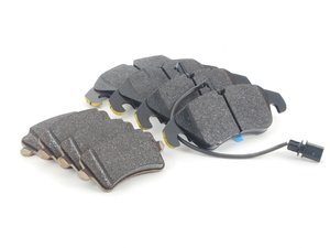 ES#2763650 - 8K0698151jkt - Front & Rear Brake Pad Kit  - Factory replacement pads for a stock feel, includes front and rear pads - Genuine Volkswagen Audi - Audi