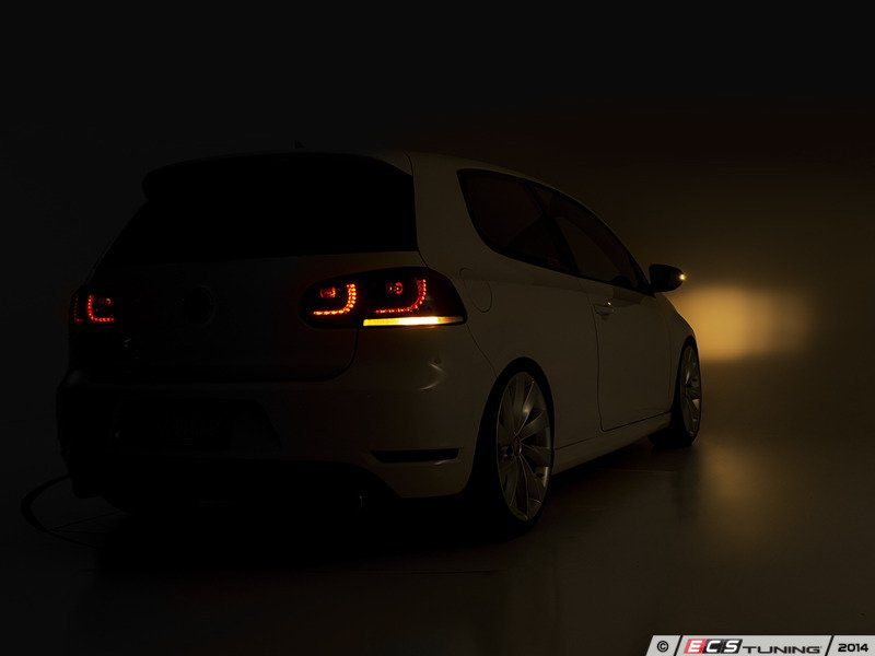 Ecs News Vw Mkvi Golf Gti Golf R Ziza Led Tinted Tail Lights