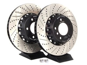 2-Piece Lightweight Front Brake Rotors - Pair (338x26)