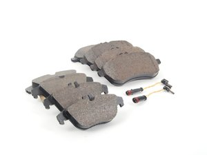 ES#2763720 - 0054201220KT3 - Front & Rear Brake Pad Kit - Featuring Genuine Mercedes-Benz Pads - Genuine Mercedes Benz - Mercedes Benz