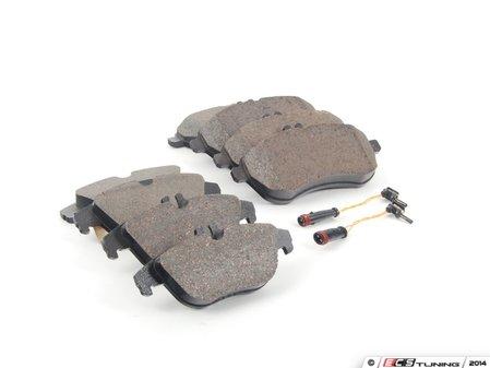 ES#2763720 - 0054201220KT3 - Front & Rear Brake Pad Kit - Featuring Genuine Mercedes-Benz Pads - Genuine Mercedes Benz - Mercedes Benz