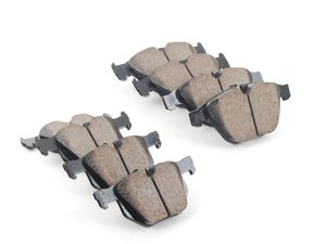 ES#2763267 - AkebonoFRKT - Front & Rear Euro Ceramic Brake Pad Kit - Offers excellent pedal feedback, low dust, and smooth initial bite. A favorite among BMW enthusiasts. - Akebono - BMW