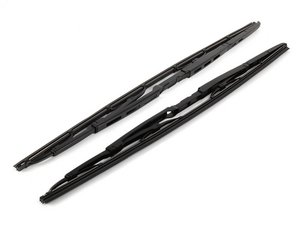 ES#9728 - 8E1698425A - Front Wiper Blade Set - Clear up streaks & improve rainy day visibility - Genuine Volkswagen Audi - Audi